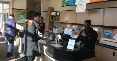Customers at a UPS Store