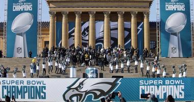 Super Bowl LII Champions Philadelphia Eagles Celebration