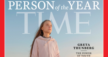 "Greta Thunberg is Time's youngest ""person of the year."""