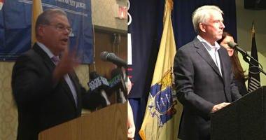 Senators Bob Menendez and Bog Hugin