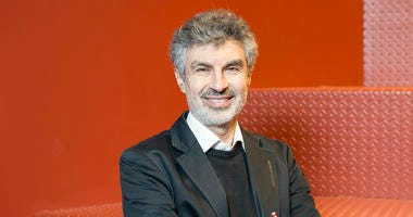 This undated photo provided by Mila shows Yoshua Bengio, a professor at the University of Montreal and scientific director at the Artificial Intelligence Institute in Quebec.