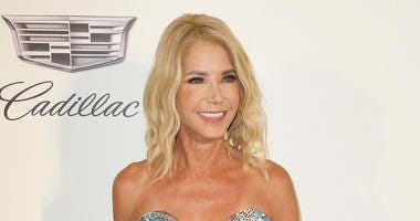 This Feb. 24, 2019 file photo shows Candace Bushnell at the 2019 Elton John AIDS Foundation Oscar Viewing Party in West Hollywood, Calif.