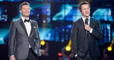 From left: Ryan Seacrest and Brian Dunkleman