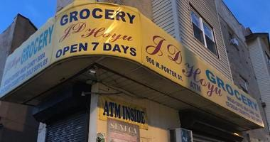 Police want to know who shot and killed the 31-year-old man behind the counter of this store at 9th and Porter in South Philly.