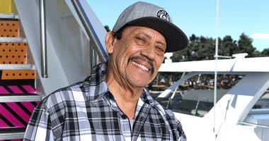 One of Hollywood's best-known villains, Danny Trejo, came to the rescue of a baby that was trapped in an overturned vehicle in Los Angeles.