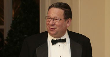 David Cohen is shown at the White House in 2014.