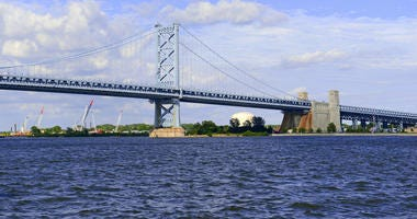 Delaware River / Ben Franklin Bridge