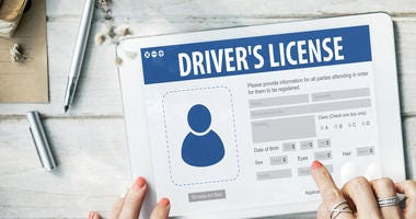 Drivers License Registration Application