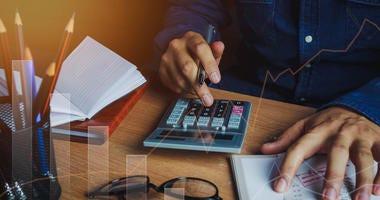 Managing finances.