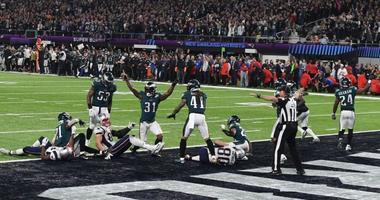 Eagles win the Super Bowl