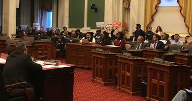 """Fair work week"" legislation was amended after a lengthy hearing."