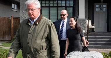 The chief financial officer of Chinese tech giant Huawei was back in a Canadian court Wednesday for what is shaping up to be a very long battle against extradition to the United States.