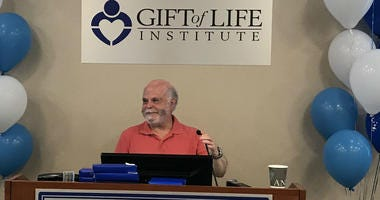 Howard Nathan, president and CEO of Gift of Life Donor Program