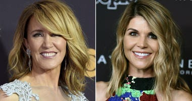 From left: Felicity Huffman and Lori Loughlin