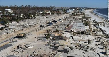 Michael leaves tens of thousands without power