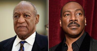 Bill Cosby and Eddie Murphy