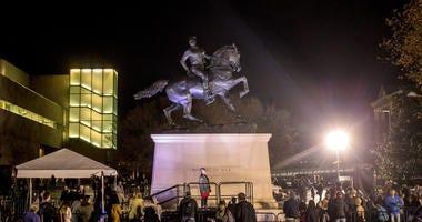 Counter Confederate Monument