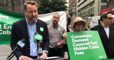 Jon Schwantes, senior policy counsel for Consumer Reports, calls on Comcast to be transparent to its customers.