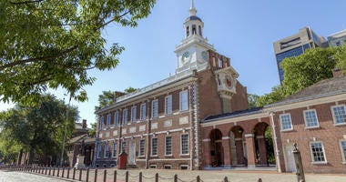 Independence Hall in Philadelphia