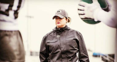 The Tampa Bay Buccaneers announced the team has added Lori Locust as assistant defensive line coach.