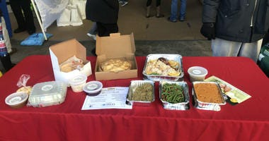 MANNA delivers Thanksgiving meals throughout Philadelphia to people with terminal illnesses.