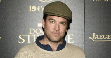 """In this Nov. 1, 2016 file photo, Michael Weatherly attends a special screening of """"Doctor Strange"""" at AMC Empire 25 in New York."""