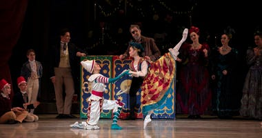 "The Pennsylvania Ballet's annual holiday performance of ""The Nutcracker"""