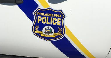 Philadelphia police vehicle.