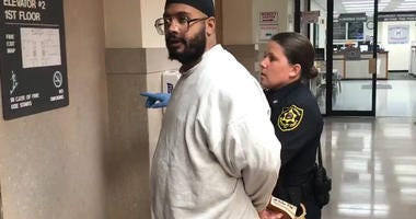 Preston Lonnberg-Lane, 30, is sentenced to 20 to 40 years behind bars after pleading guilty to the third-degree murder of his father.