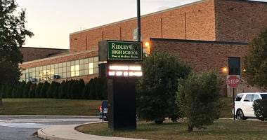 At Ridley High School, five people have the mumps: one student, one student-teacher, and three staffers.
