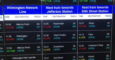 Lots of delays and hectic rides to work on ⁦SEPTA⁩ regional rail.