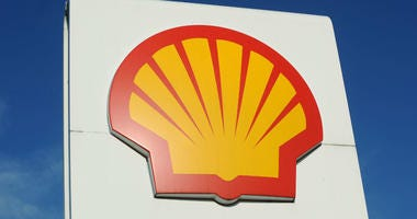 File photo dated 03/02/11 of a Royal Dutch Shell logo.