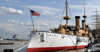 USS Olympia at Independence Seaport Museum