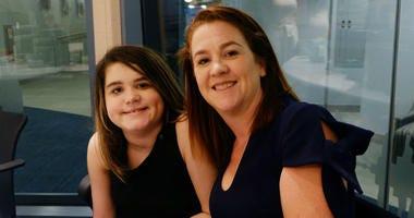 Janet Murnaghan and her daughter Sarah.