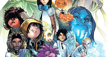 """Cover art for the upcoming """"Strange Academy"""" comic book."""