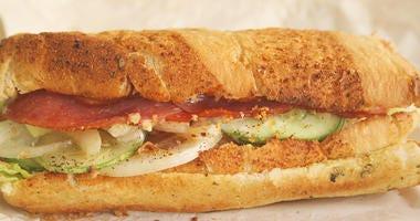 Foot long subway sandwich