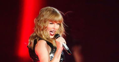 Taylor Swift performs during the launch of her Reputation Tour at University of Phoenix Stadium in Glendale, Ariz. on May 8, 2018.