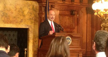 With another annual toll increase looming in January, add Governor Wolf to the list of people grumbling about the cost of travelling the Pennsylvania Turnpike.