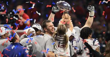 Tom Brady at Super Bowl 53