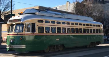 SEPTA trolley car