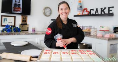 Colleen Kriebel, owner of Kriebel's Custom Bakery.