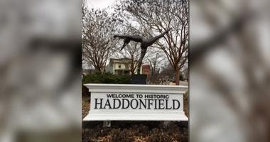A life-sized bronze ballerina now adorns the roundabout in downtown Haddonfield.