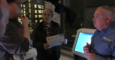 Election experts discuss paper ballot-based voting machines in Bucks County.