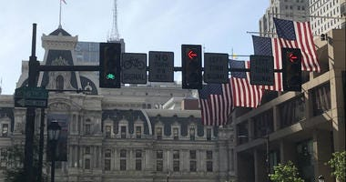 Stop lights specifically for bicyclists are being implemented throughout the city.