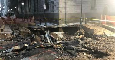 water main break damage