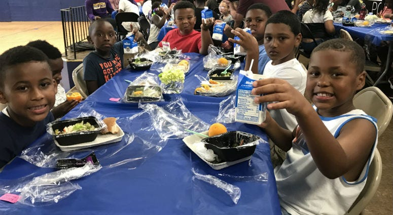 The Camden City School District is providing free nutritious lunches to more than 2,000 kids over the summer.