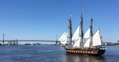 tall ships parade of sail 2018