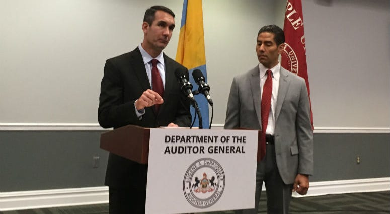 Pennsylvania Auditor General Eugene DePasquale is examining Temple University's books for a performance audit, taking a close look at tuition rates in particular.