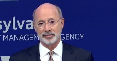 Tom Wolf makes an announcement about Pennsylvania's fight against COVID-19.