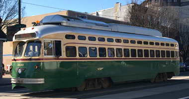SEPTA trolley car